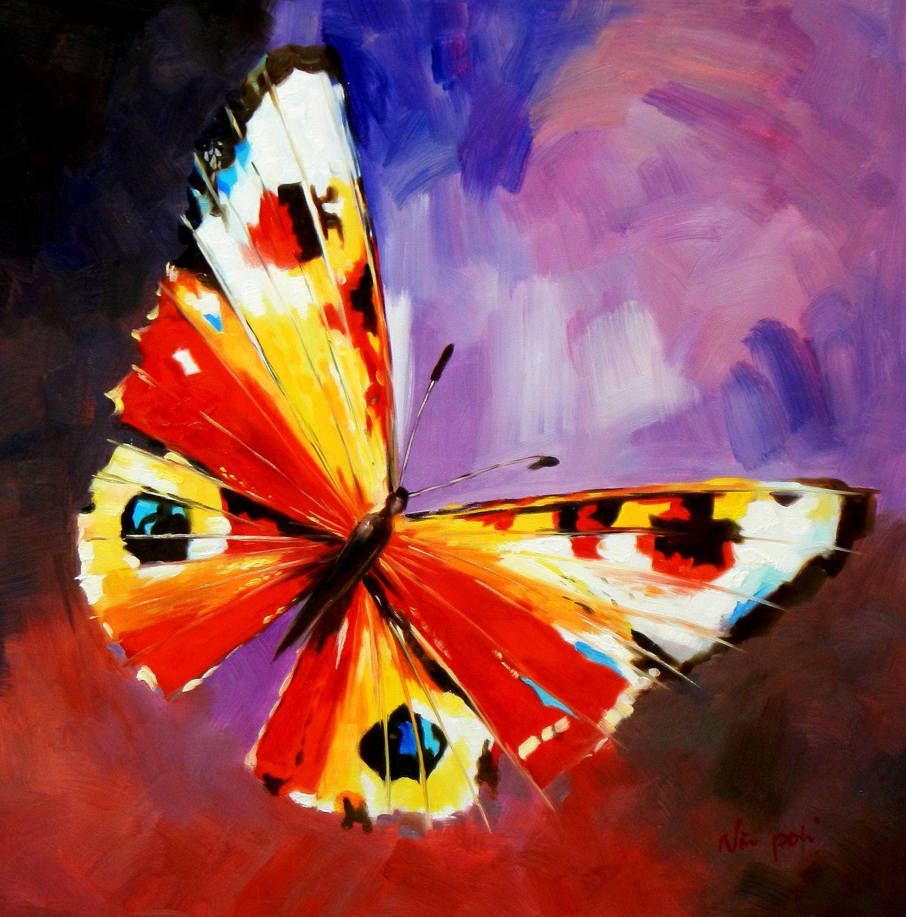 Modern Art - Die Schönheit der Natur e93727 60x60cm beeindruckendes Gemälde