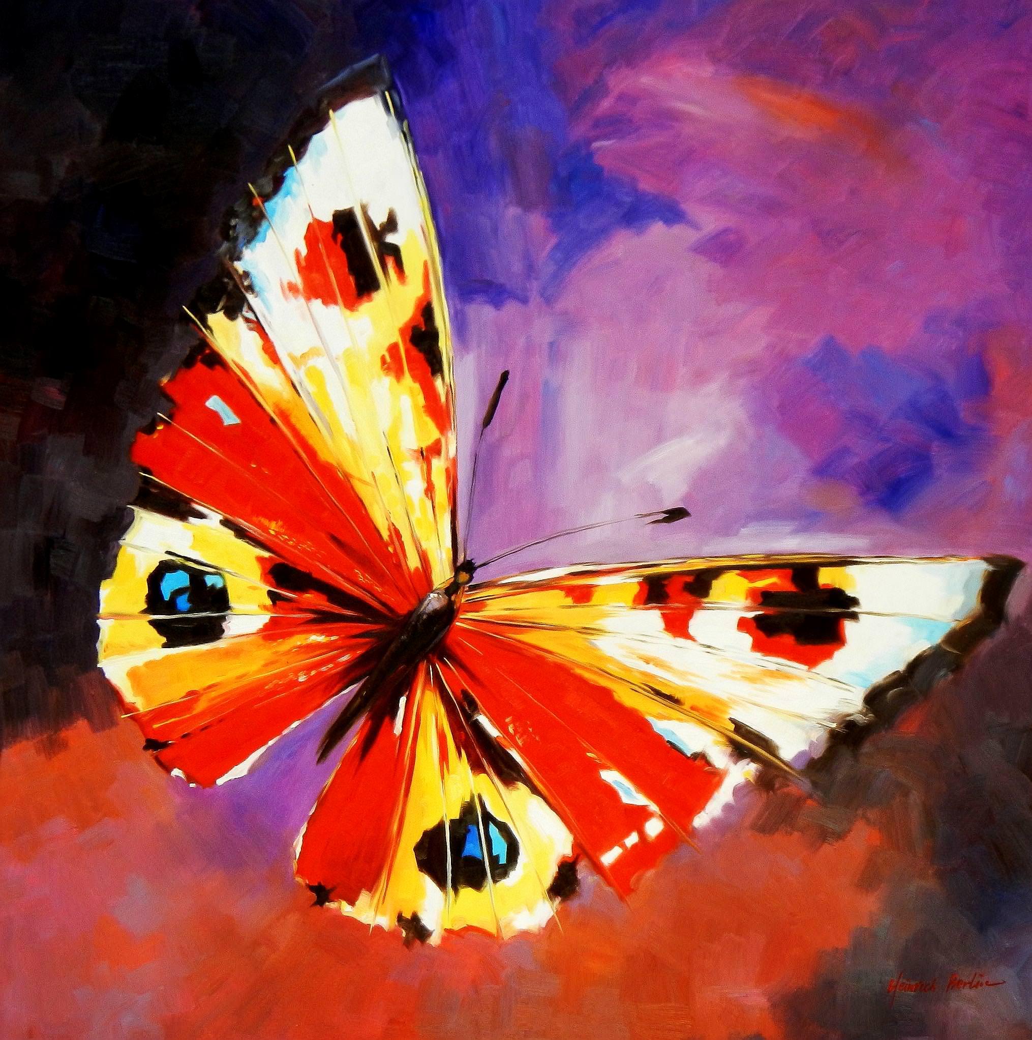 Modern Art - Die Schönheit der Natur m93809 120x120cm beeindruckendes Gemälde
