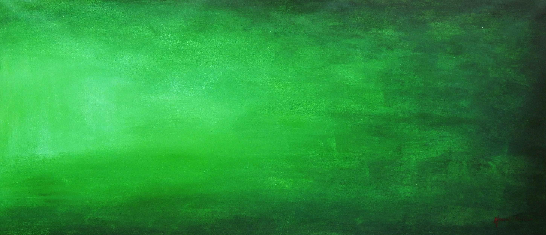 Abstract - Emerald t96083 75x180cm modernes Ölgemälde