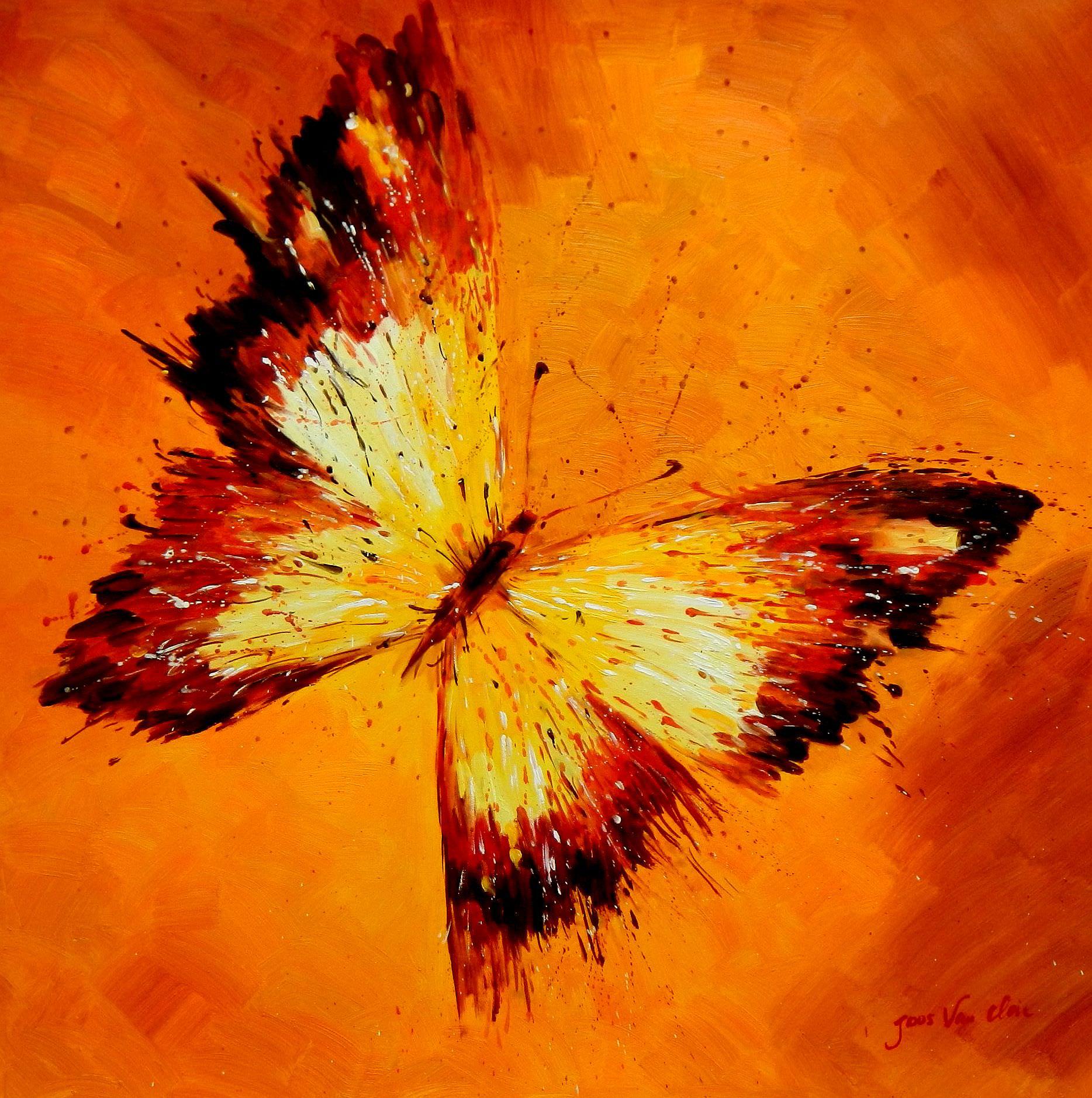 Modern Art - Die Schönheit der Natur g93114 80x80cm beeindruckendes Gemälde
