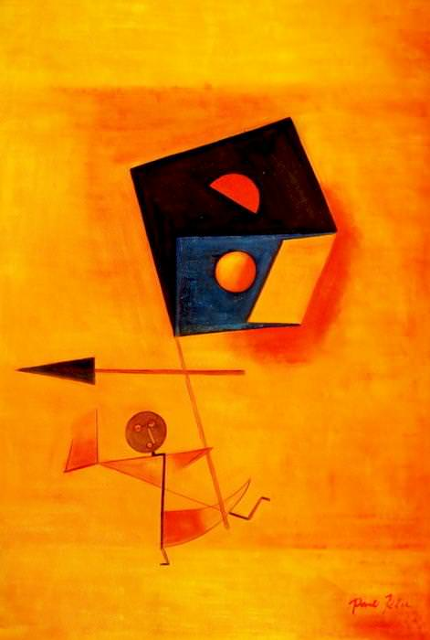 Paul Klee - Conqueror d92637 60x90cm exquisites Ölgemälde