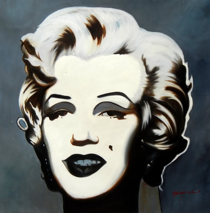 Modern Art - Marilyn Monroe g92706 80x80cm exquisites Ölgemälde