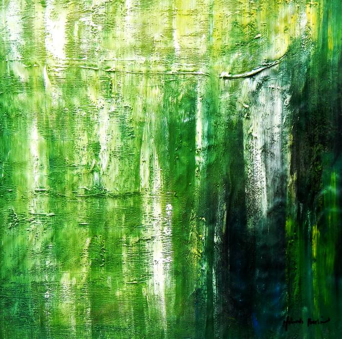 Abstract - Ireland Summer games g92726 80x80cm abstraktes Gemälde