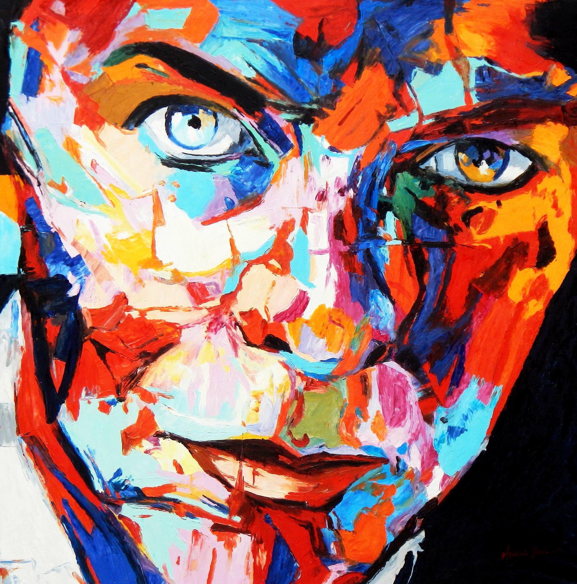 Modern Art - Die Gewissheit m92785 120x120cm exquisites Ölgemälde