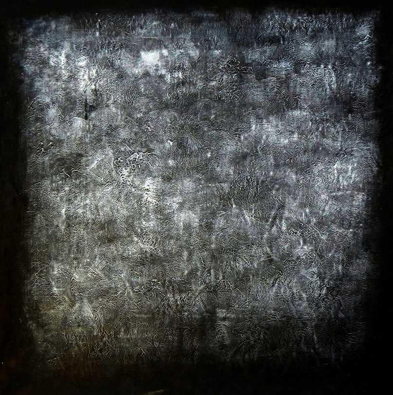 Abstract - Black Diamond m95686 120x120cm exzellentes Ölgemälde