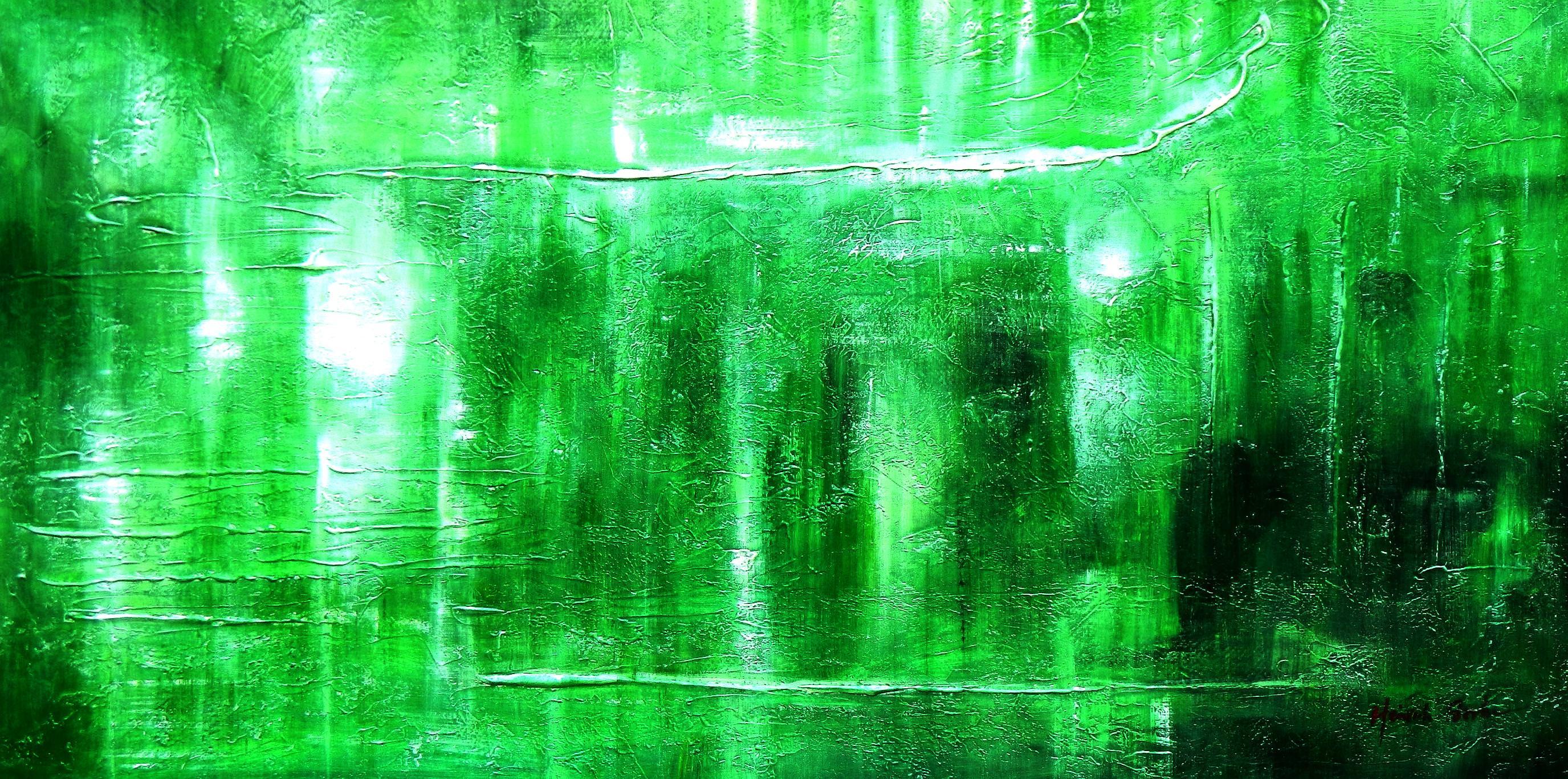 Abstract - Ireland Summer games f92931 G 60x120cm abstraktes Gemälde