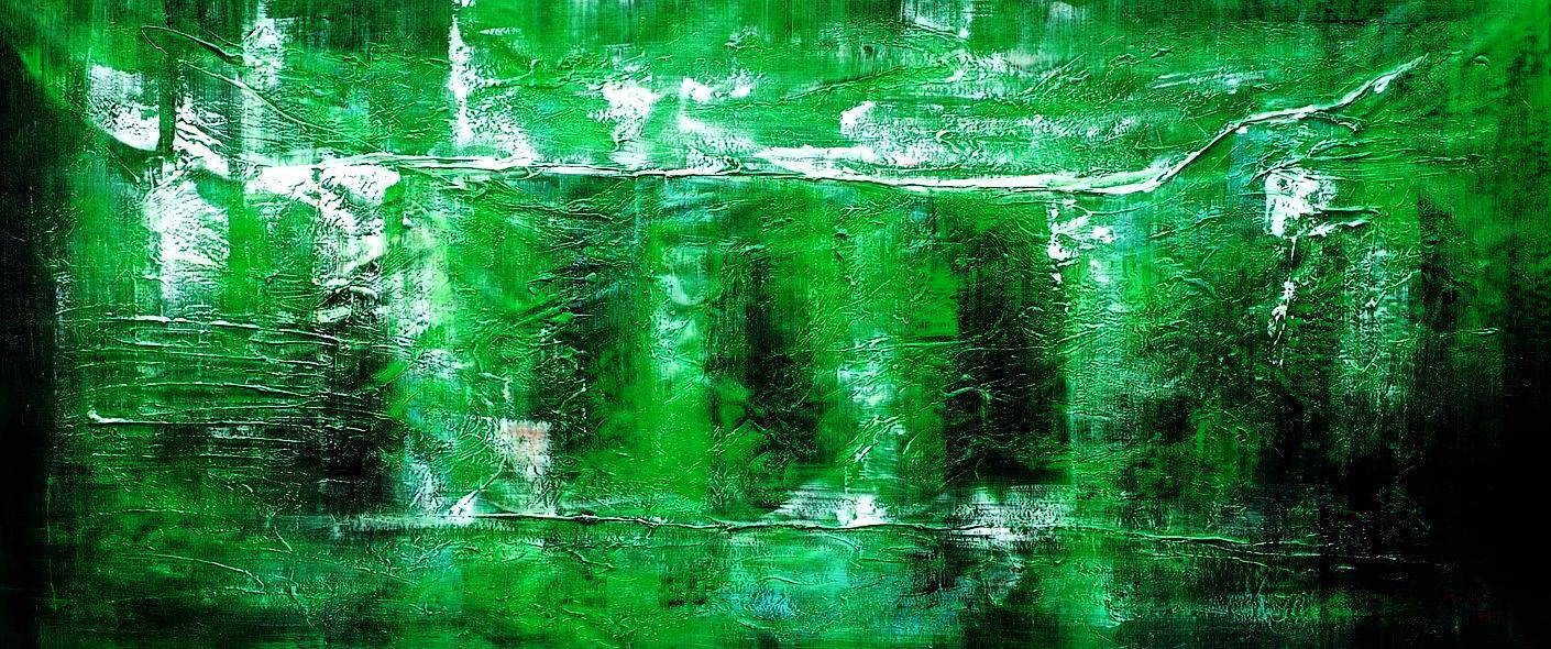 Abstract - Ireland Summer games t94488 75x180cm abstraktes Gemälde